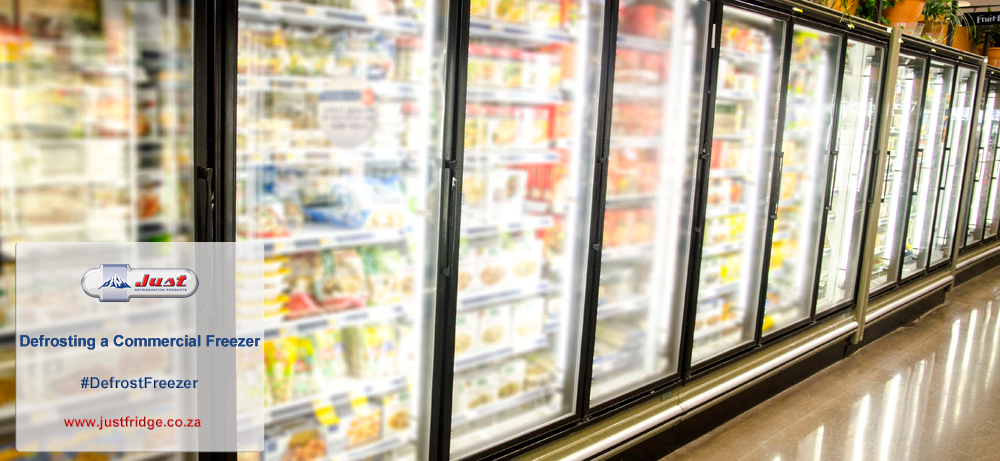 Defrosting a Commercial Freezer | Just Fridge